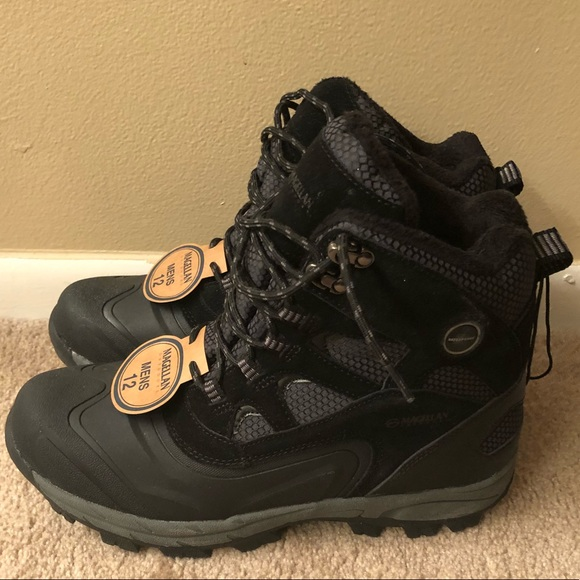 0765f23bf67 Men's Magellan Outdoor Mid Boots-Black Size 12 NWT